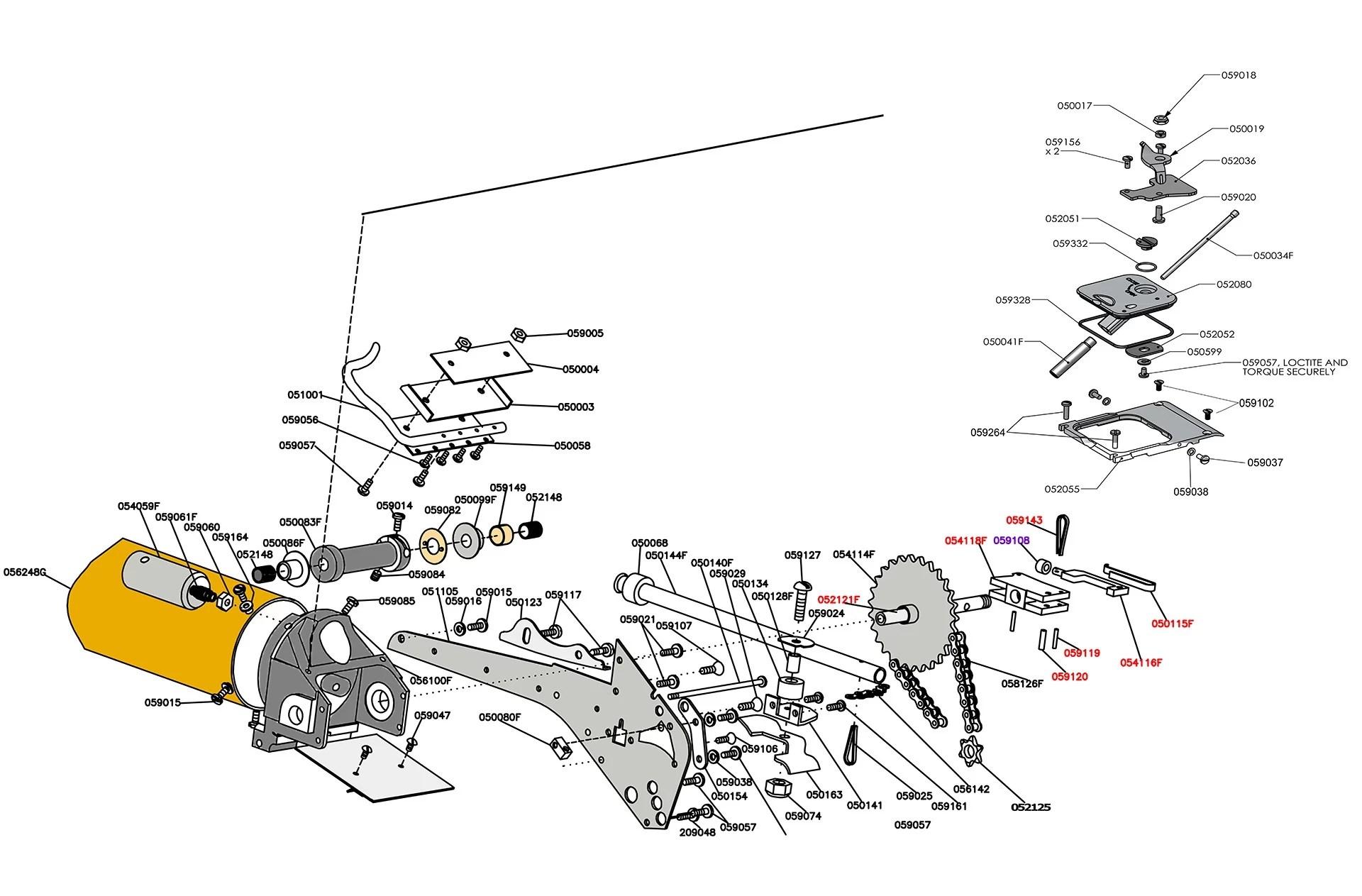 33 Tapetech Bazooka Parts Diagram