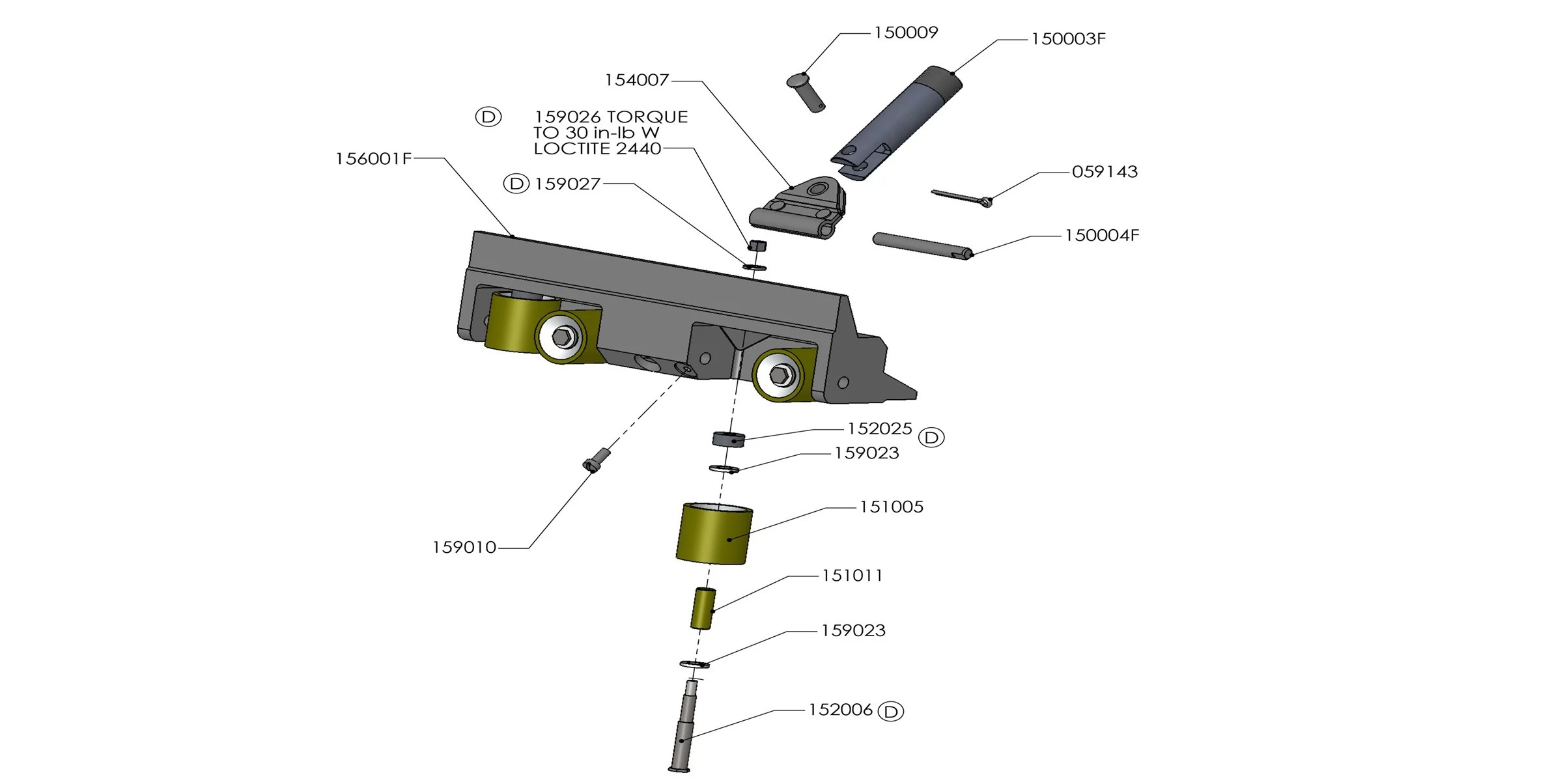 Tapetech Bazooka Parts Diagram