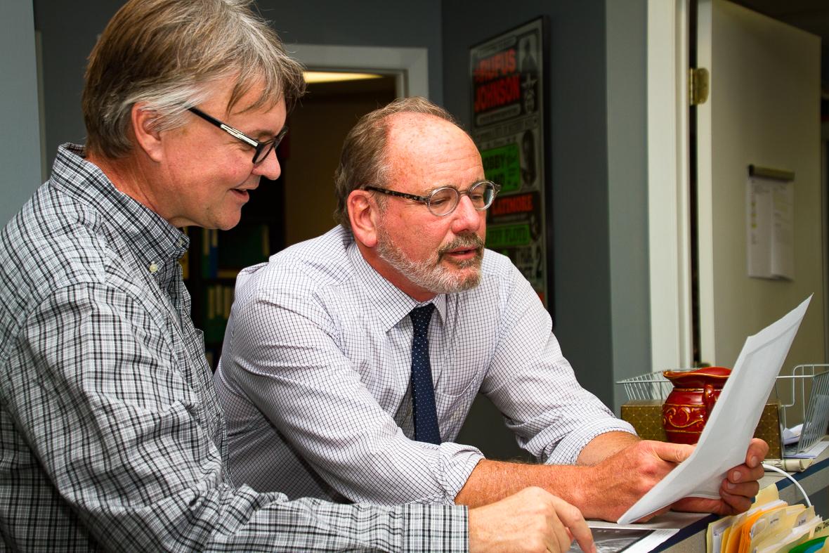 Al Sturgeon and Ron Pohlman