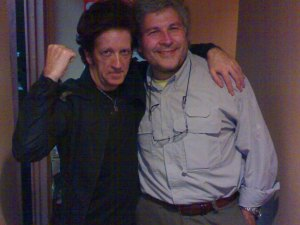 Willie&Stefano, backstage at Watercolor Cafè, Larchmont (NY), 17/11/09