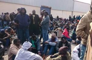 مظاهرة بنيويوك احتجاجا على ترحيل اللاجئين السودانيين من الاردن