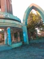 طلاب جامعة الخرطوم يواصلون التظاهرات والشرطة تستخدم سائلا ازرقاً