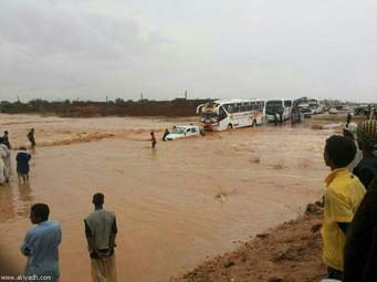 الامم المتحدة: 195,000 متضرر من السيول بالسودان