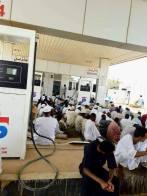 وزير النفط: لا ضمانات لعدم عودة أزمة الوقود
