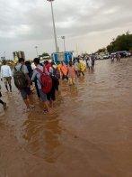 142 الف شخص تضرروا من الأمطار والفيضانات بالسودان