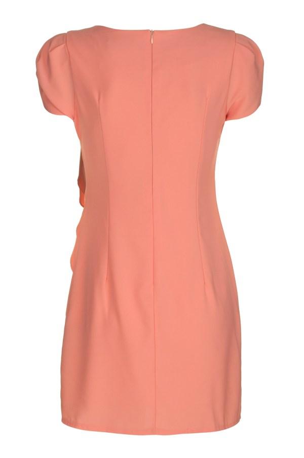 Sukienka mini z falbana Fervent packshot back