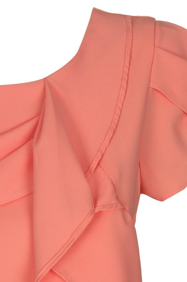 Sukienka mini z falbana Fervent packshot zoom