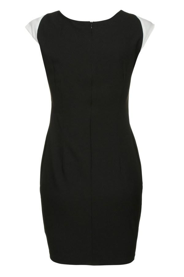 Sukienka optycznie wyszczuplajaca mini Carve Curves packshot back