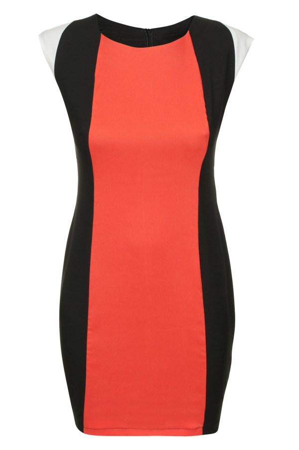 Sukienka optycznie wyszczuplajaca mini Carve Curves packshot front