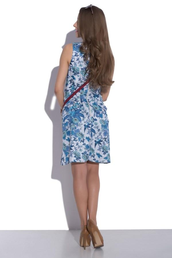 Sukienka letnia z motywem