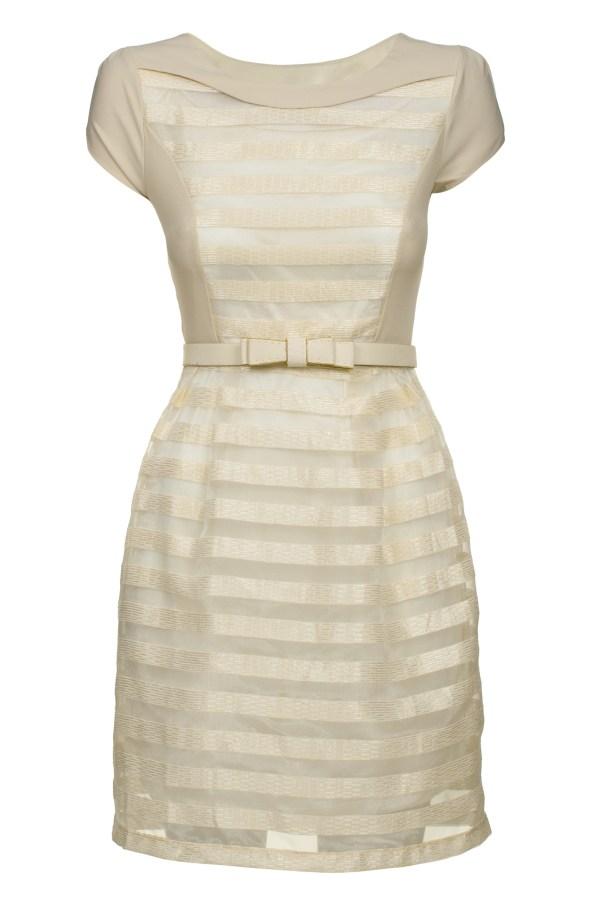 Sukienka szyfonowa mini Delight, packshot, przód