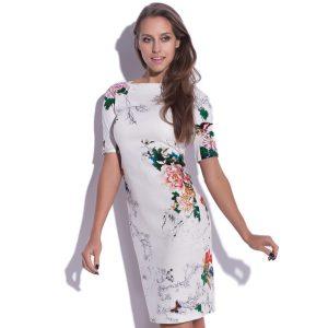 Robe midi avec motif floral Blossom