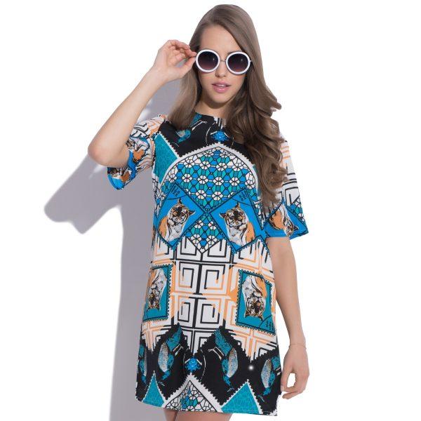 Robe avec motif géométrique Intricacy