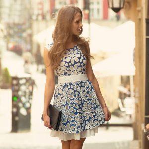 robe à deux couches; sukienka dwuwarstwowa