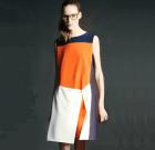 Robe géométrique Colour Split