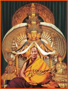 Dalai Lama Chenrezig