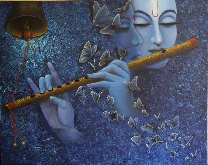 Krishna-paintings-by-rakhi-baird-at-artodyssey