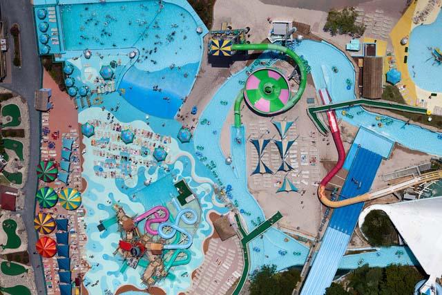2. Parque aquático em Ocean City (Maryland, EUA)