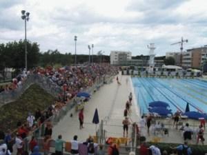 La piscina di Riccione