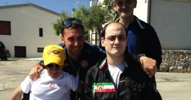 Brandon e Franco del Conte insieme ai dirigenti Ultrattivi