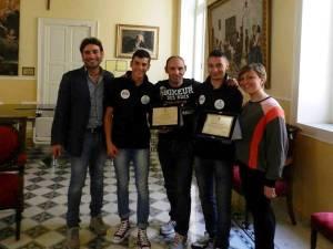 La premiazione del Team Cifarelli