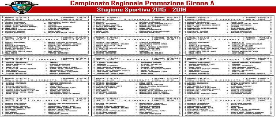 Calendario Promozione Girone A.Promozione Girone A Solo Il Cerignola Vince Altamurasport