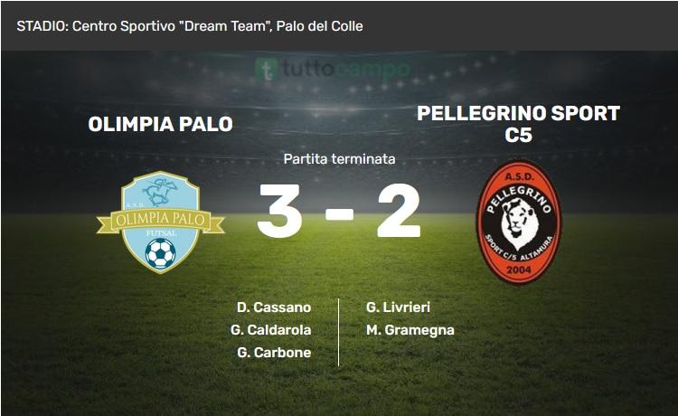 Olimpia Palo - Pellegrino Sport (photo credits Tuttocampo.it)