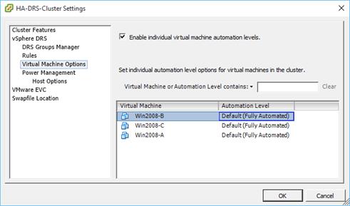 VMware DRS - Distributed Resource Scheduler