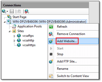 How to natively backup vCSA to IIS using HTTPS