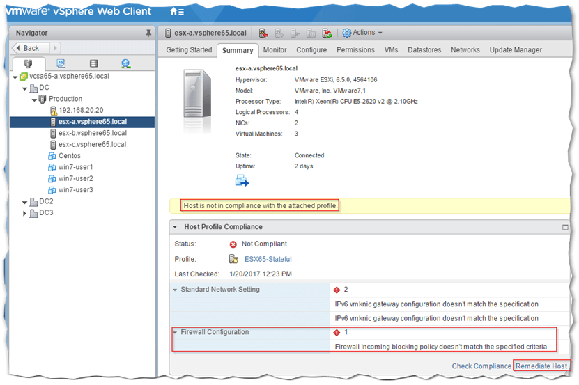 An Introduction to VMware Host Profiles