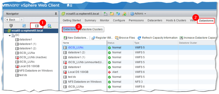 How to upgrade datastores to VMFS-6