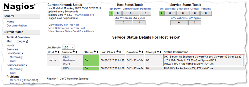 How to monitor ESXi with Nagios Core – Part 2