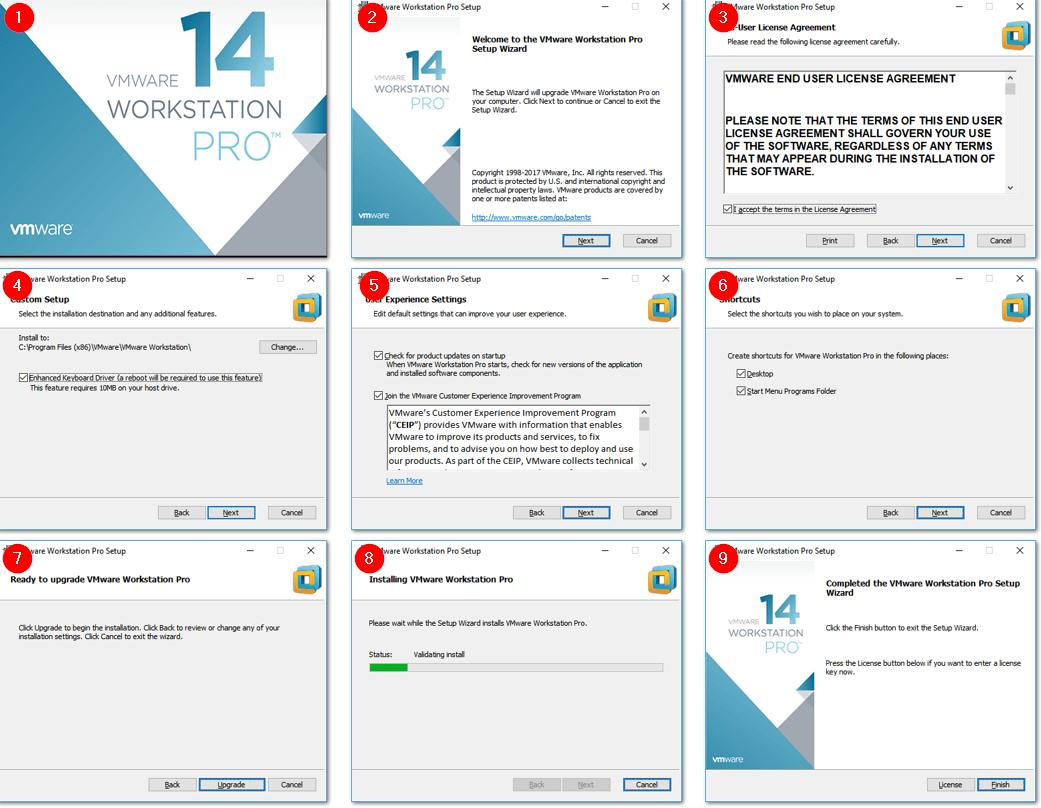 vmware workstation 14 download for windows 10 64 bit