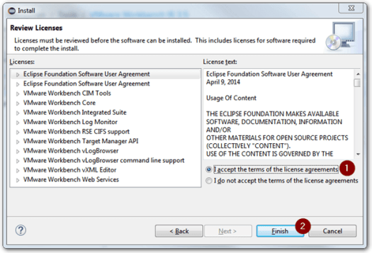 How to Use VMware Workbench for Eclipse IDE Users