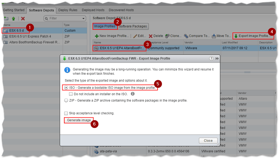 How to Customize an ESXi image using VMware Image Builder