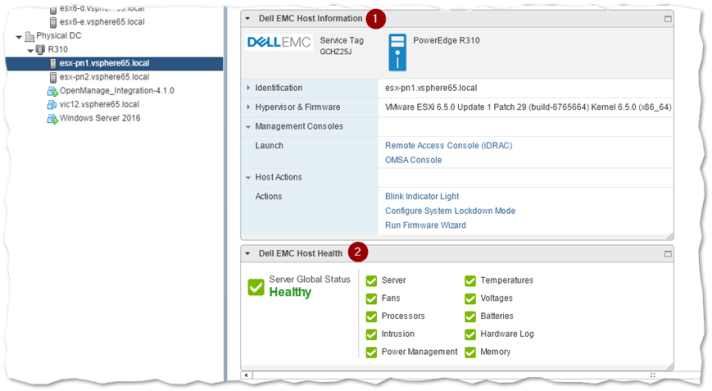 How to deploy Dell OpenManage server components for VMware