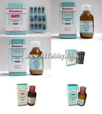 دواء drug إبياموكس Ibiamox