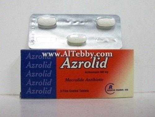 أزروليد Azrolid دواء drug