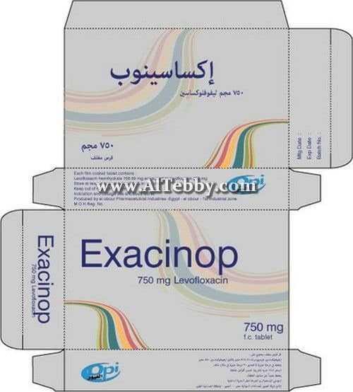 إكساسينوب Exacinop دواء drug