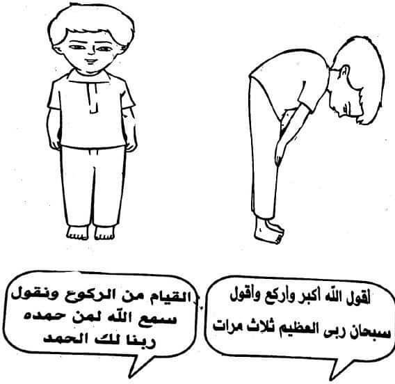 حمل كتاب تعليم الاطفال الوضوء والصلاة بطريقة مبسطه