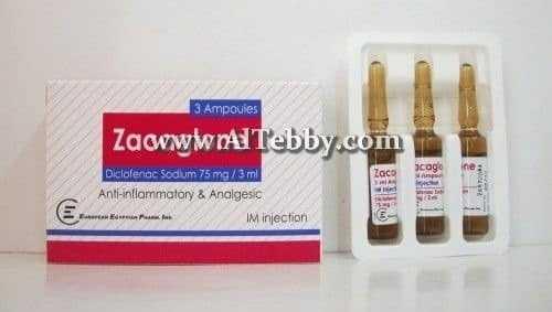 زاكاجلون Zacaglone دواء drug