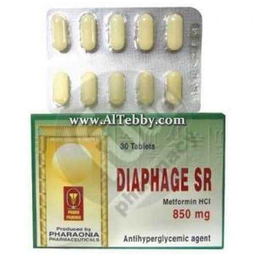ديافاج اس ار Diaphage SR دواء drug