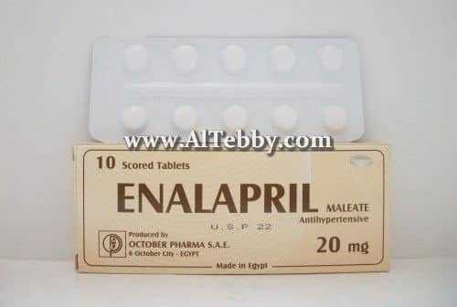 إنالابريل Enalapril دواء drug