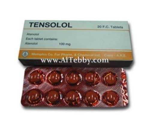 تينسولول Tensolol دواء drug