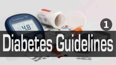 أحدث القواعد الأرشادية لما قبل ظهور السكري Diabetes Guidelines