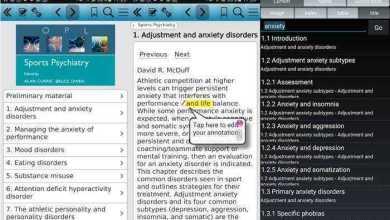 تطبيق كتاب الطب النفسي الرياضي - Sports Psychiatry