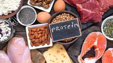 النظام الغذائي والكتلة العضلية