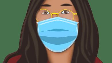 طريقة لبس الكمامة مع النظارة | النظارة الطبية والكمامة كيف يجتمعان
