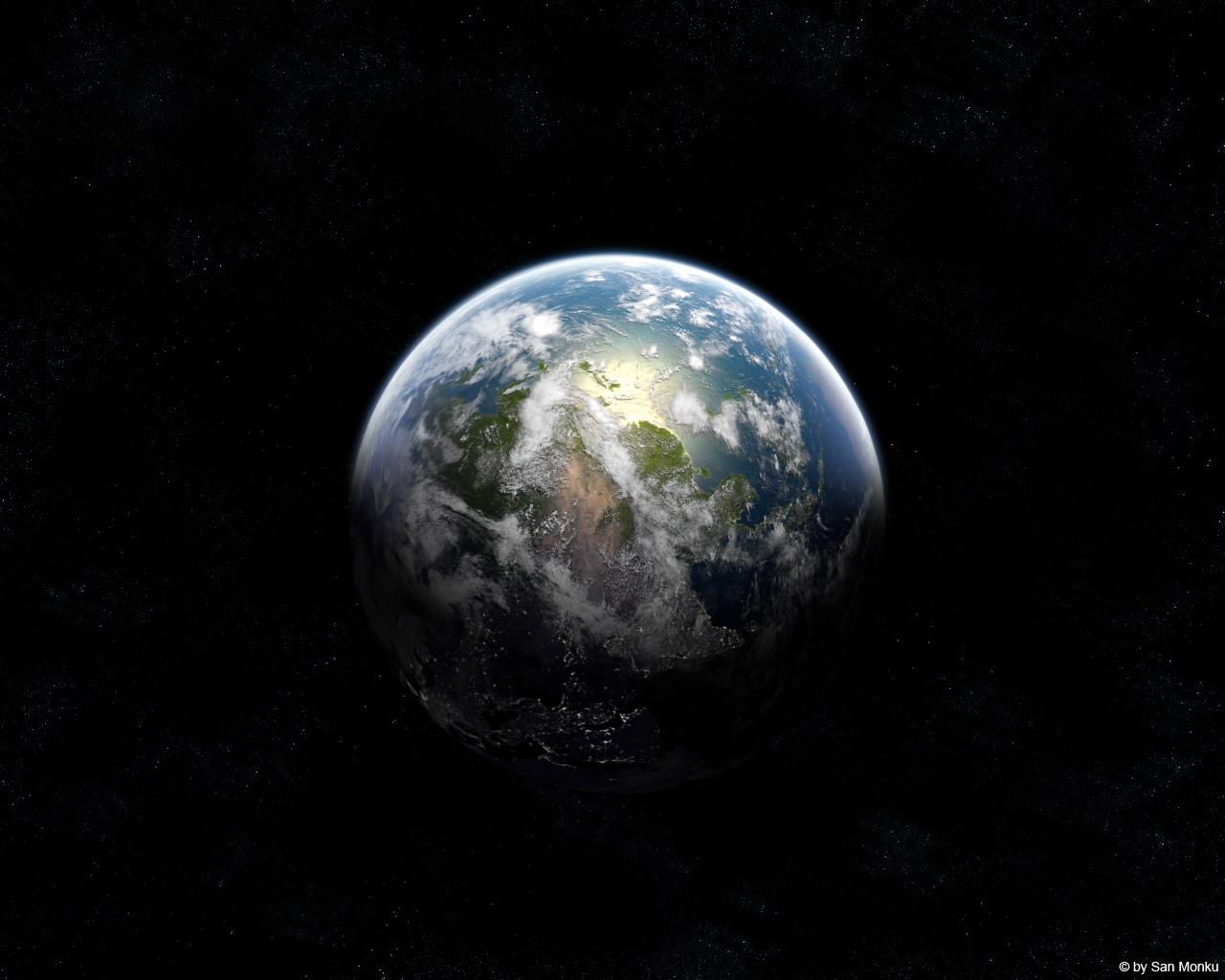 Planet Earth By Sanmonku