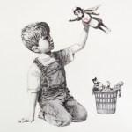 Banksy does coronavirus